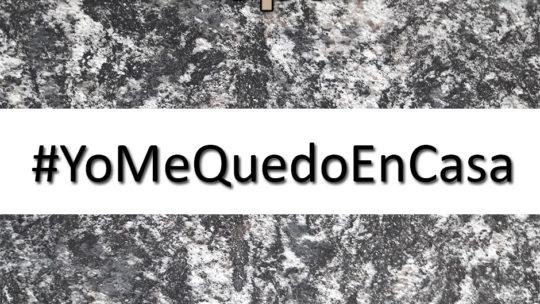 #yomequedocasa comunicate con nosotros a través de WhastsApp y redes sociales mientras dure la cuarentena