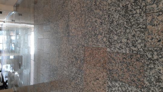 Baldosas de granito natural nacional surtidas, distintos colores