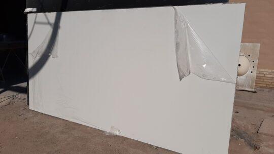 Nuevos materiales en agosto: Marmotech Blanco Nieve, Marmotech Beige Arena y Solidium Blanco Tormenta