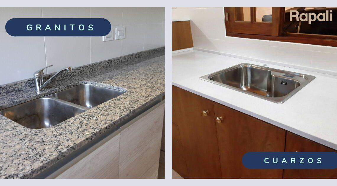 Granito vs Cuarzo ¿Cuáles son las diferencias?