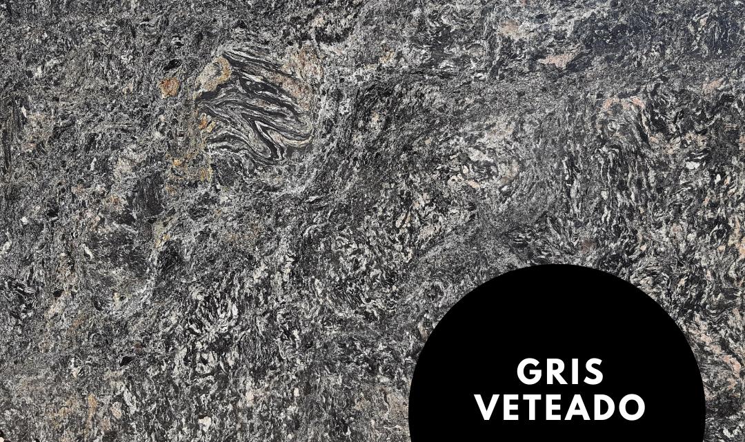 Placas disponibles de Granito Gris Veteado